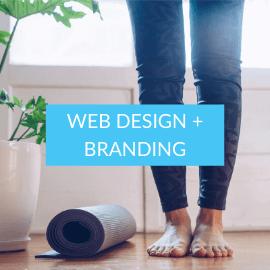 Yoga + Meditation Web Design Project